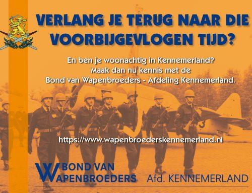 Ledenwerving Afd. Kennemerland